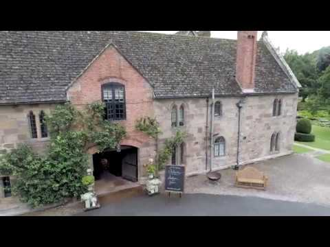 Aerial Wedding Video Brinsop Court Manor House near Hereford