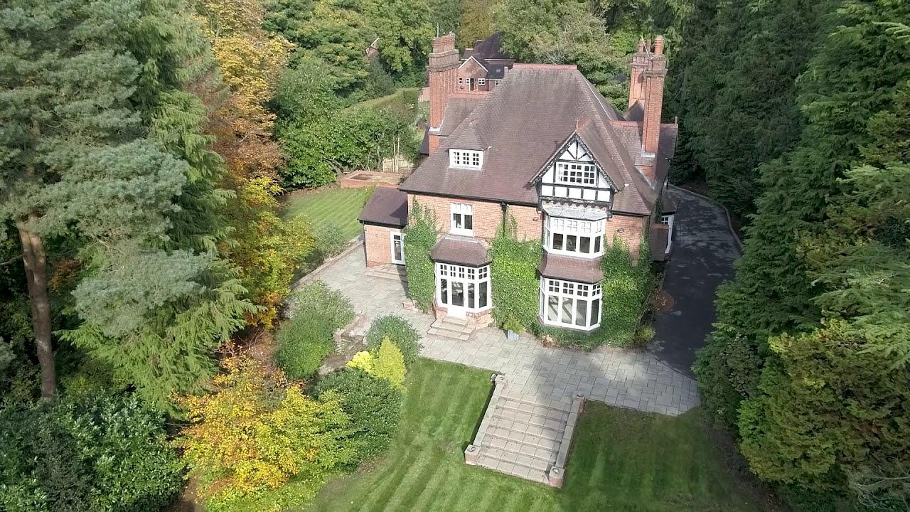Aerial Video Property for Sale Arden Estate Agents Worcestershire  Langdale House