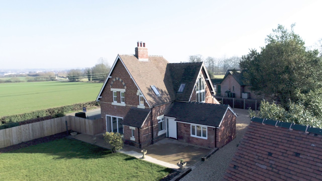 Aerial Video / Drone Property for Sale School House Worcester